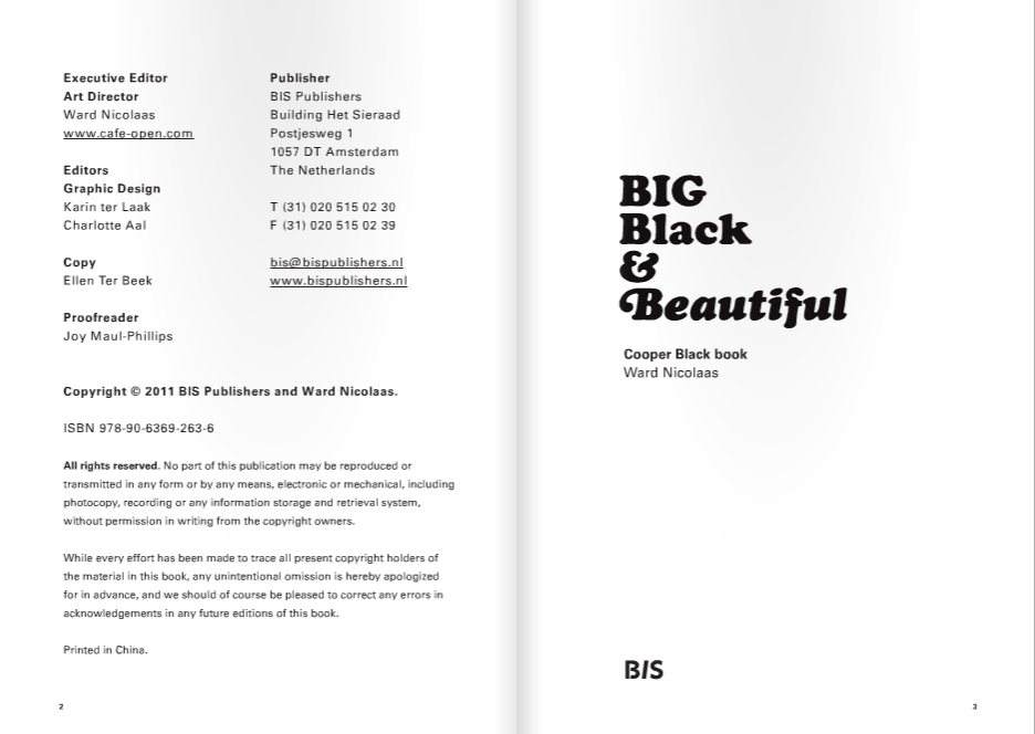 Big Black & Beautiful – Cooper Black