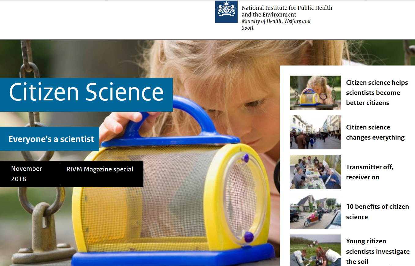 RIVM Magazine: Citizen Science