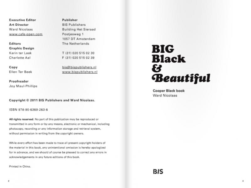 Big Black & Beautiful – Cooper Black